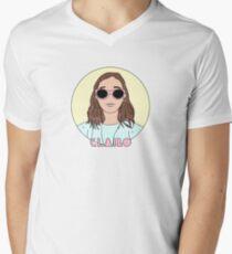 Clairo Men's V-Neck T-Shirt