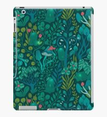Emerald forest keepers. Fairy woodland creatures. iPad Case/Skin