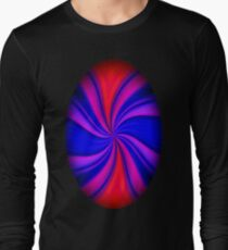 Abstract Expressionism Long Sleeve T-Shirt