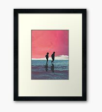Until Dusk Framed Print
