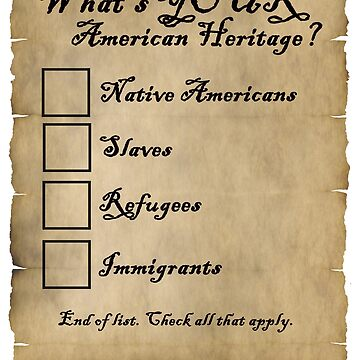 YOUR AMERICAN HERITAGE CHECK BOXES by deborahsmith