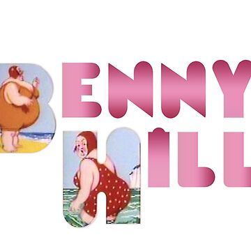 Benny Hill logo (clean) by A-Game