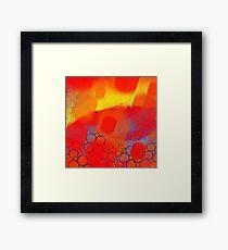 Matrix Sun Framed Print