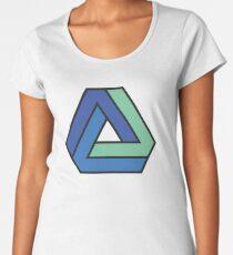 Penrose Triangle  Women's Premium T-Shirt