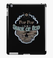 Pop Pop By Grace God Grandpa Gifts iPad Case/Skin