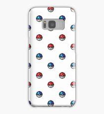 Pokeball Pixel Art Pattern  Samsung Galaxy Case/Skin
