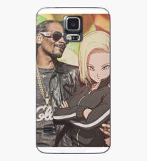 Android 18 feat. Snoop Dogg Hülle & Klebefolie für Samsung Galaxy
