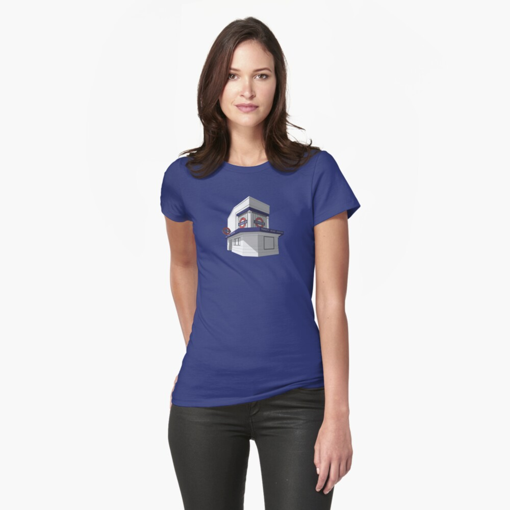 Trinity Road (Tooting Bec) Womens T-Shirt Front