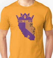 Lebron James The King Lakers T-Shirt Unisex T-Shirt
