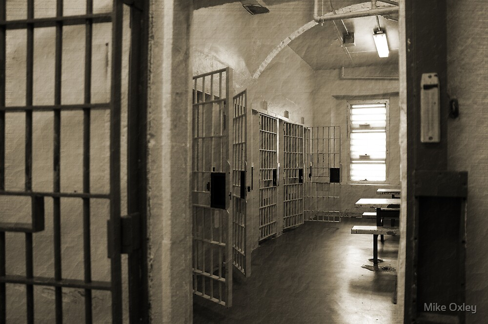 Protective Custody, Cell Block 3, Cornwall Jail by Mike Oxley