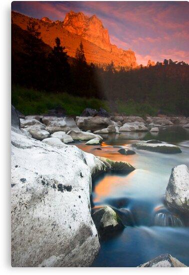 Smith Rock Gorge by failingjune