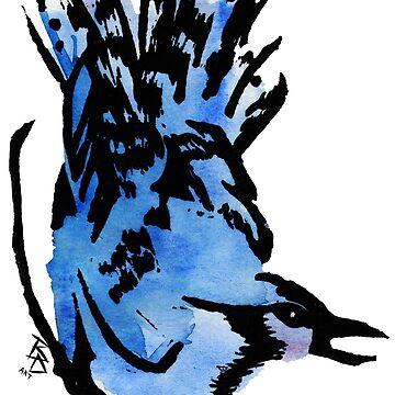 BlueJay by bdesantisart