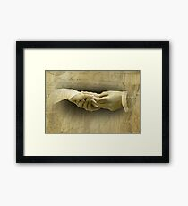 With this Ring... Framed Print