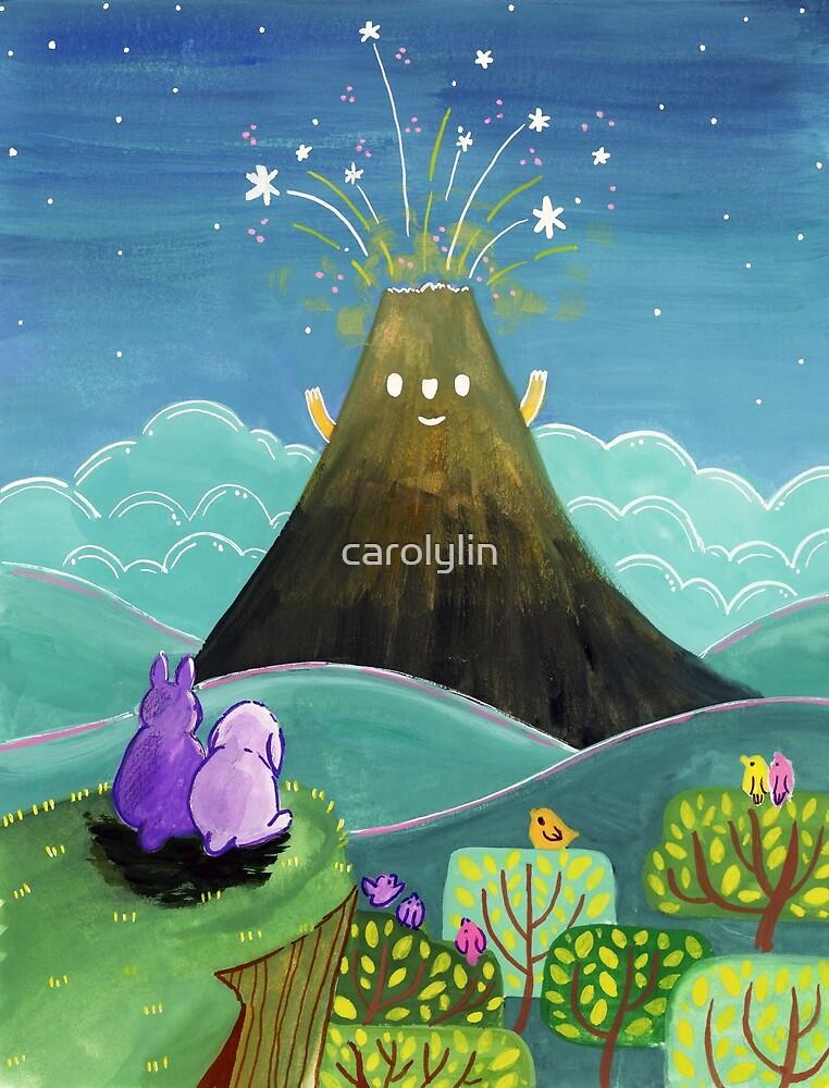 Freundlicher Vulkan von carolylin