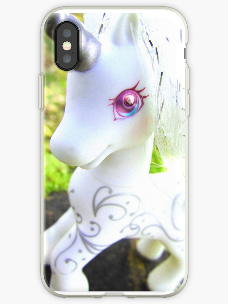 'My Little Pony - G2 Princess Silver Swirl' iPhone Case by minniedreamer