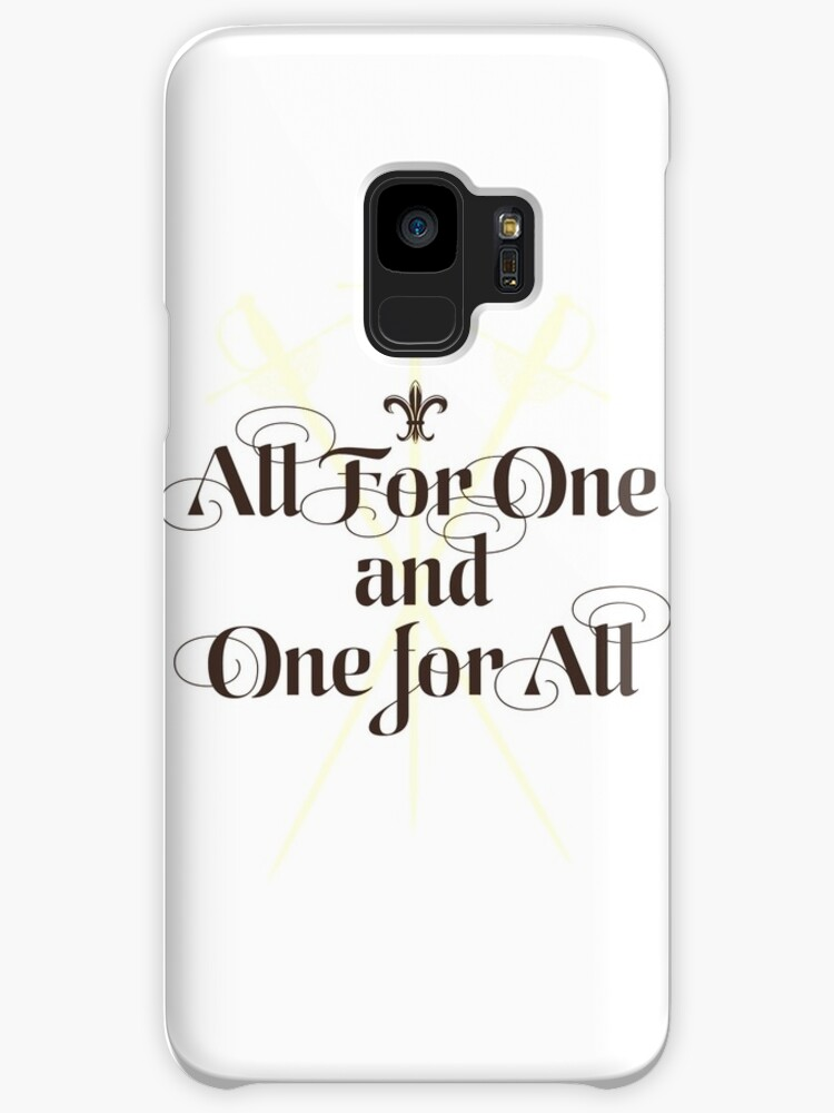 The Three Musketeers Motto Cases Skins For Samsung Galaxy By