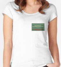 Delightful Delicious Delovely Fitted Scoop T-Shirt