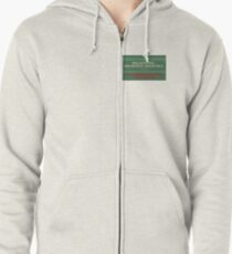 Delightful Delicious Delovely Zipped Hoodie
