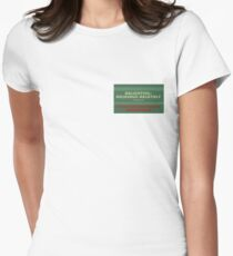 Delightful Delicious Delovely Fitted T-Shirt