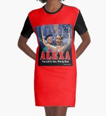 Alexandria Ocasio-Cortez Graphic T-Shirt Dress