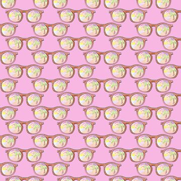 Tropical sunglasses pattern by iCraftCafe