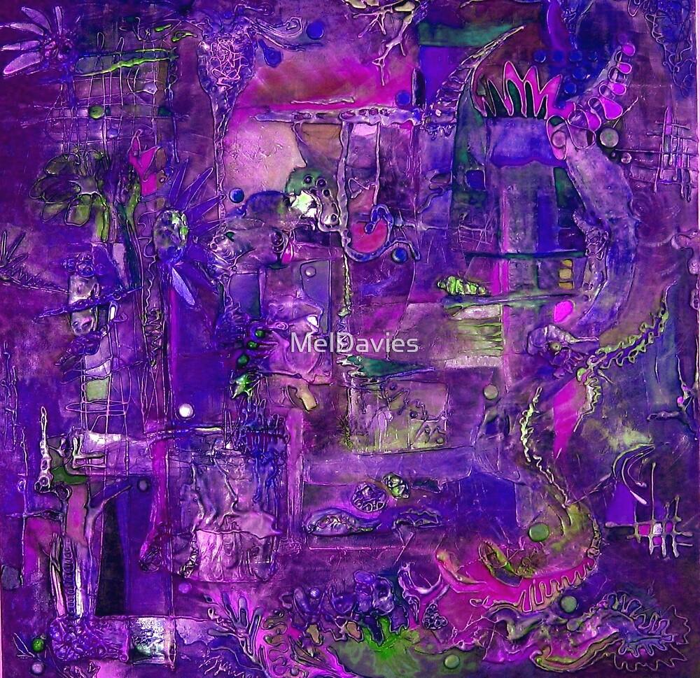 Busy Purple by MelDavies