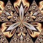 Golden Sierpinski II by Hugh Fathers