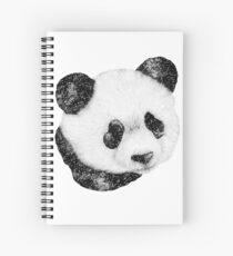 Cosmic Panda Spiral Notebook