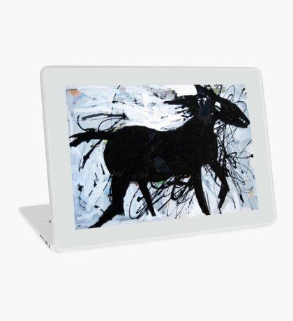 Black Horse 12 Laptop Skin