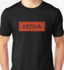Sativa Strain Weed T-Shirt and Apparel Unisex T-Shirt