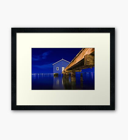 Water Under The Bridge  Framed Print