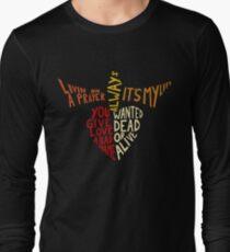 Bon Jovi - Songs Long Sleeve T-Shirt