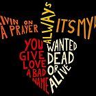 Bon Jovi - Songs by riffraffmakes