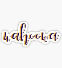 wahoowa UVA Sticker