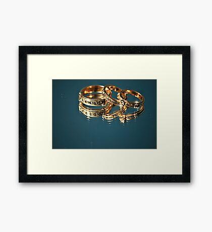 Wedding Band Framed Print