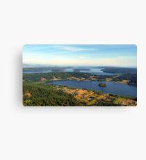 Lake Campbell Five Canvas Print