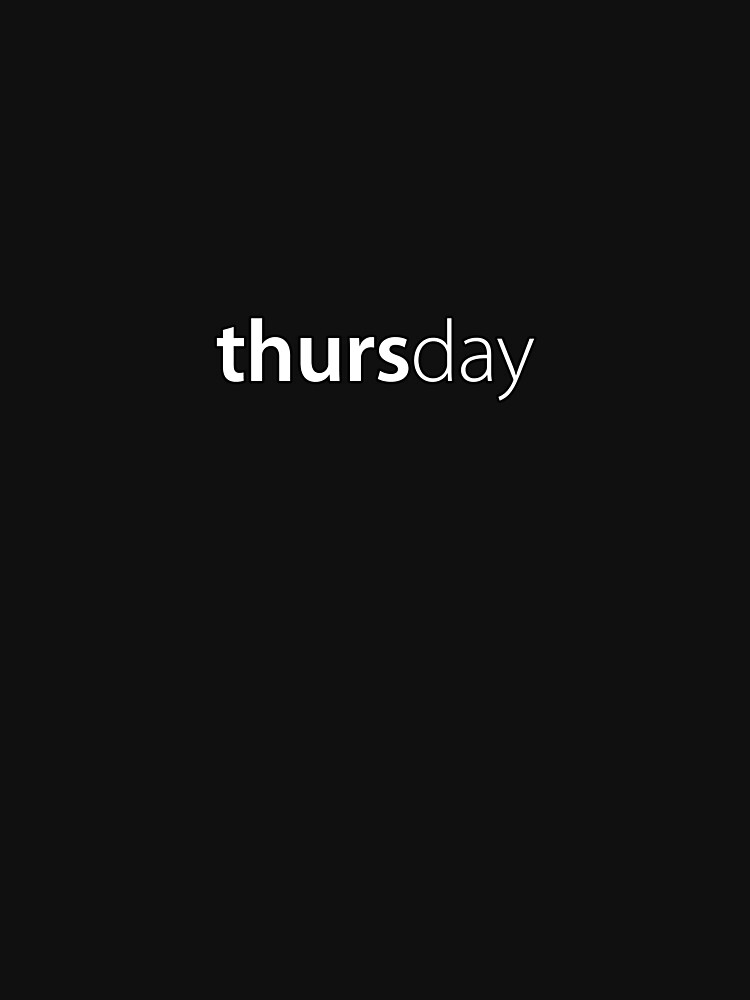 Thursday by russell