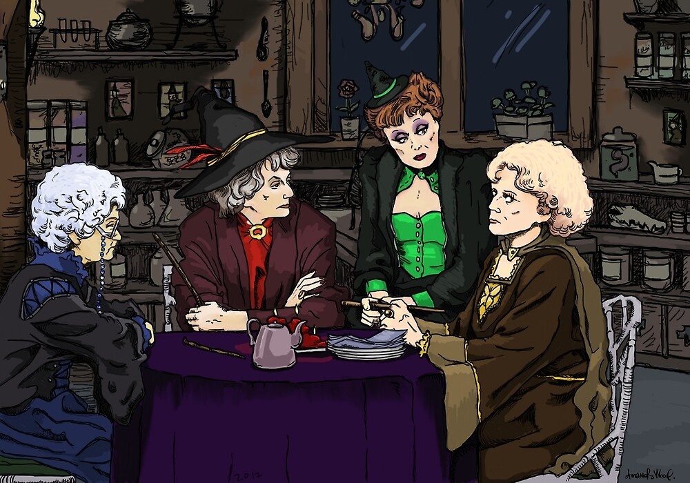 the Goldwarts Girls by sneercampaign