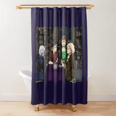 the Goldwarts Girls Shower Curtain