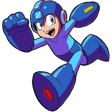 Megaman Running by brianfarrarart