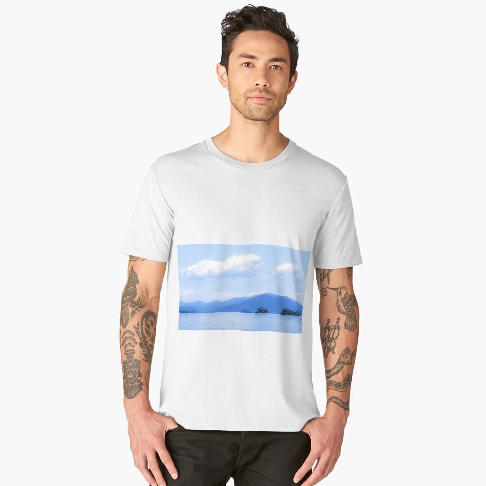 cool. Men's Premium T-Shirt Front