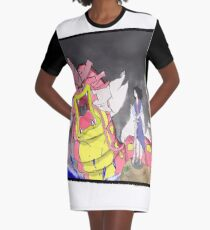 The dragon and the girl Graphic T-Shirt Dress