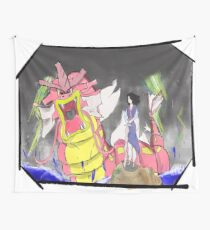 The dragon and the girl Wall Tapestry