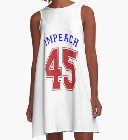 Impeach 45 A-Line Dress