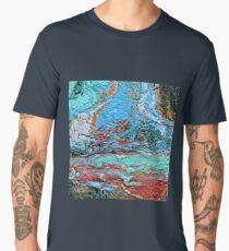 Across The Waterfall Men's Premium T-Shirt