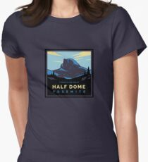 HalfDomeBlue Women's Fitted T-Shirt
