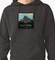 HalfDomeGreen Pullover Hoodie