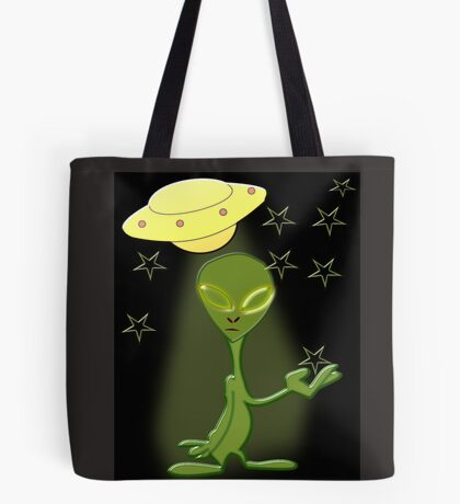 Alien's Adventure (5698 Views) Tote Bag
