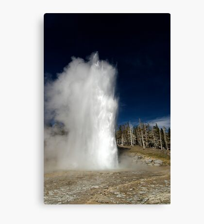 Grand Geyser Eruption Canvas Print