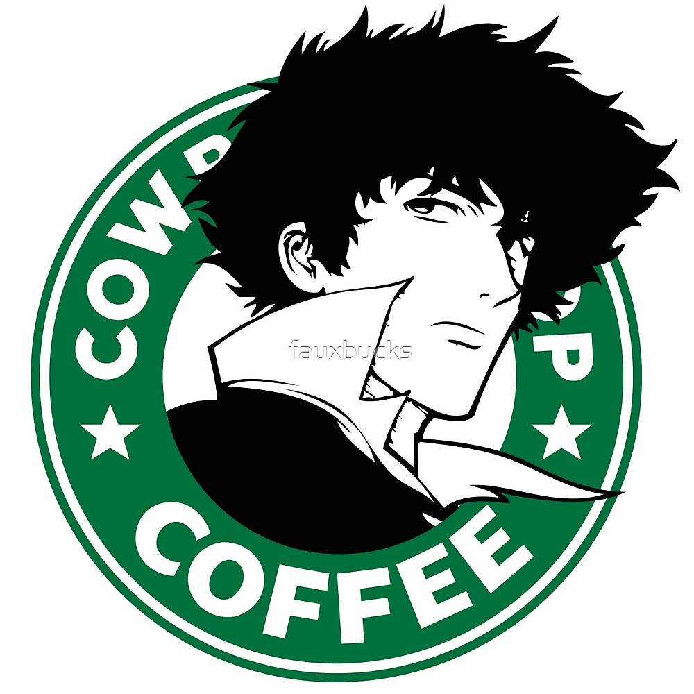 Cowboy Bebop X Starbucks Inspired Illustration. by fauxbucks